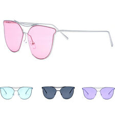 Fashion Women's Retro Designer Cat Eye Metal UV400 Sunglasses Eyewear Shades