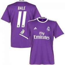 *2016 / 2017 - ADIDAS ; REAL MADRID AWAY SHIRT SS / BALE 11 = KIDS SIZE*