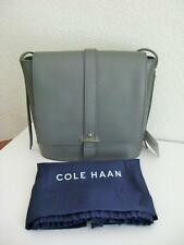 NWT- $198 COLE HAAN Genuine Leather Vestry Saddle Bag/Handbag/Crossbody/Purse
