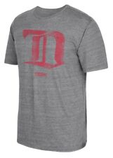 "Detroit Red Wings CCM ""Retro Logo"" Distressed Premium Tri-Blend Gray T-Shirt"