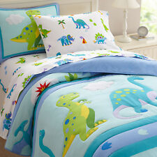 Wildkin Olive Kids Dinosaur Land Comforter Set