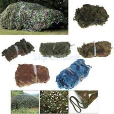 Camo Net Camouflage Netting Hunting/Shooting Hide Cover Car Net Woodland Leaves