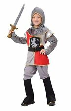 Childrens Boys Knight Costume for Medieval Middle Ages Fancy Dress
