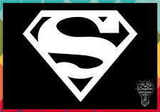 Superman Symbol Decal Vinyl Window Car Sticker