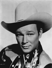 Roy Rogers posed in Cowboy Hat High Quality Photo