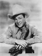 Roy Rogers smiling in Portrait with Cowboy Outfit High Quality Photo