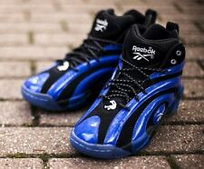 "Reebok Shaqnosis ""Orlando"" Classic Basketball Retro Shoes Black/Truth Blue/White"
