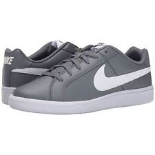 Nike COURT ROYALE Mens Grey White Athletic Comfort Casual Tennis Sneakers Shoes