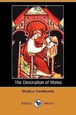 NEW The Description of Wales (Dodo Press) By Giraldus Cambrensis Paperback