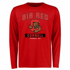 Cornell Big Red Campus Icon Long Sleeve T-Shirt - Red - College