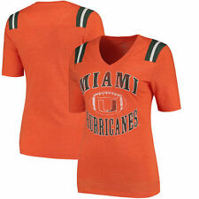 Miami Hurricanes Colosseum Women's Artistic T-Shirt - Orange - College