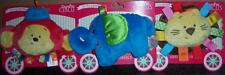 NEW GUND COLOR FUN CIRCUS CRINKLE TOY, ELEPHANT, LION, MONKEY, BABY SHOWER *