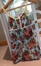 Women's Avoca Anthology Size 2 Vest Top Tunic Vintage Floral