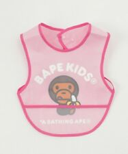 A BATHING APE BABY MILO FOOD BIB 3 colors Kids Infant Feeding Bibs Gift From JP
