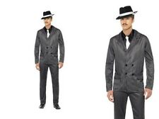 1920s Mens Fancy Dress Gangster Mafia 20s Moll Outfit Sizes M,L