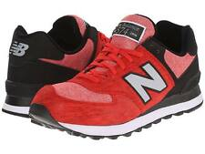 NEW BALANCE ML574TTB ML574 Mn's (M) Red/Blk/Gry Suede/Mesh Retro Running Shoes
