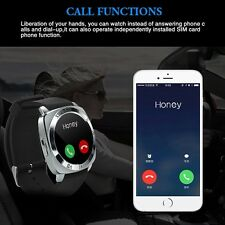 Unlock Bluetooth Sports Watch Quad band single SIM Card MP3 mobile phone watch