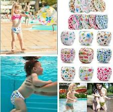 Swim Nappy Diaper Leakproof Reusable Adjustable For Baby Infant Boy Girl Toddler
