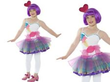 Mini Candy Girl Costume Girls Katy Perry Fancy Dress Outfit Ages 7-12 Years