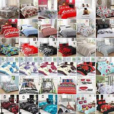 Duvet Cover with Pillowcase Quilt Cover Bedding Set Single Double King & S King