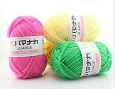 Wool colors Four shares infant child milk cotton hand-woven coarse Yarn Woolen