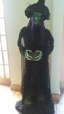 Halloween Party/Prop freestanding Life Size Witch Caldron/Sound/Light Up Eyes