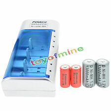 2x D  Ni-MH Rechargeable Battery +2x C  Ni-MH  Rechargeable Battery+Charger