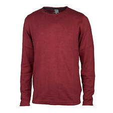 Bench Xenial Knitted Jumper wine red Men's Fine Knit Jumper with 10% Silk