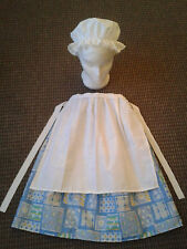 TH1 GIRLS VICTORIAN EDWARDIAN TUDOR MEDIEVAL FANCY DRESS COSTUME choose size