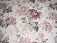 LAURA ASHLEY PEONY GARDEN AMETHYST FABRIC 4.7 METRES