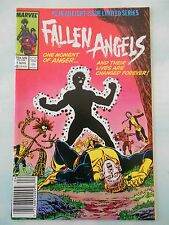 FALLEN ANGELS #1 April 1987 Marvel Limited Series VF/VF+ approx bagged & boarded