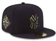 Official New York Yankees MLB Team on Metallic New Era 59FIFTY Fitted Hat