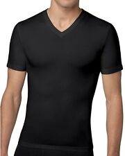 Spanx Mens Compression V Neck Undershirt for Abs, Torso and Improved Posture