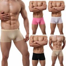 Men's Bulge Comfy Enhance Bulge Pouch Underwear Boxer Briefs Shorts Trunks  M-XL