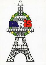Cycling - Condor Cycles, Publicity Card, PARIS CYCLES, mint