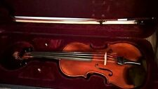 Modern German made 4/4 violin with case and bow