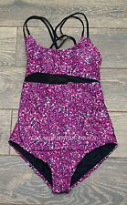 NEW Lululemon Tidal Flow One Piece- Swimwear Bathing suit - Paradise Camo Black