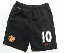 MANCHESTER UNITED 2014/15 BOYS AWAY SHORTS No.10  BY NIKE SIZE LARGE BOYS BNWT