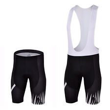 Black Skeleton Men's Cycling Shorts Padded Bike Bicycle Bib Knicks Shorts S-5XL