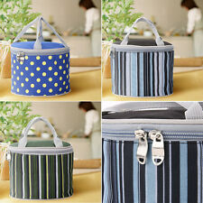 Portable Insulated Thermal Cooler Lunch Box Picnic Carry Tote Storage Bag Case