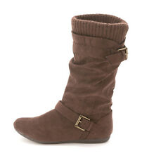 Report Womens EVERTON Suede Almond Toe Mid-Calf Cold Weather & Shearling