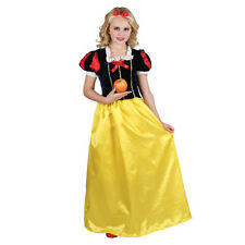 Girls Deluxe Snow Princess Costume for Fairytales Fancy Dress Kids Childs