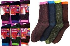 4 Pairs Womens Thermal Socks Heated Insulated Winter Hike Pack NEW Lot 9-11