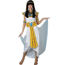 Ladies Princess Cleopatra Costume for Fairytales Fancy Dress Womens