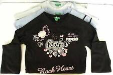UNITED COLORS OF BENETTON GIRLS ROCK HEART SWEATER