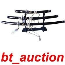 Set of 3  Kill Bill Bride's Hattori Hanzo Japanese Katana Sword (W65)