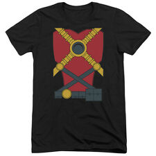 Justice League Red Robin Mens Tri-Blend Short Sleeve Shirt