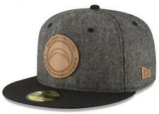 Official San Diego Chargers New Era NFL Vintage Tweed 59FIFTY Fitted Hat