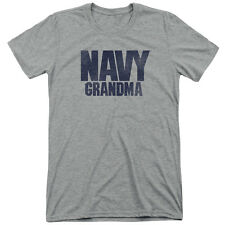 Navy Grandma Mens Tri-Blend Short Sleeve Shirt