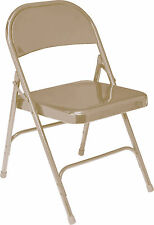 National Public Seating 50 Series Steel Folding Chair Set of 4